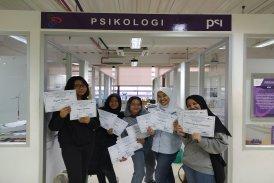 Mahasiswa Program Studi Psikologi juara 1 NUDC dan KDMI UPJ Februari 2020